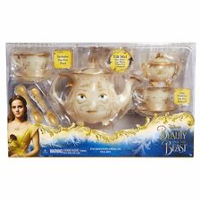 Disney Beauty and the Beast Enchanted Objects Tea Set Mrs. Potts' 2017 Film NEW!