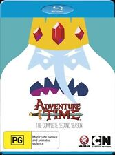 Adventure Time : Season 2 (Blu-ray, 2013)  Region A B C   FREE POST