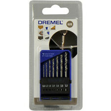 Dremel 628 Precisione 7 Set Di Punte Per Trapano 0.8mm 1.2mm 1.6mm 2.0mm 2.4mm
