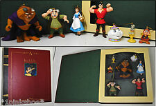 DISNEY Storybook Christmas Ornament Collection: BEAUTY & THE BEAST, 7pc Set