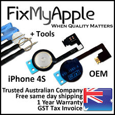 iPhone 4S Original Home Button Flex Cable Ribbon Switch Replacement Tools Kit