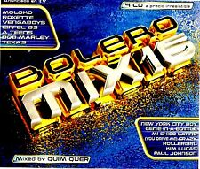 CDx4 - Various - Bolero Mix 16 Quim Quer Mixes - LISTEN