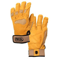 New listing petzl cordex plus belay climbing gloves Tan Small K53St