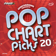 Zoom Karaoke Pop Chart Picks 20 (ZPCP020) (February 2014)