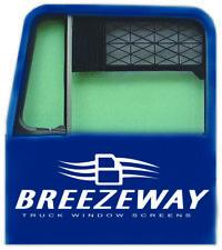 #3 Breezeway Screen Truck Window Screen, Set of 2 (Save Fuel) GREEN as it gets.