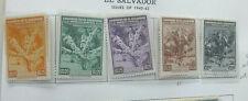 Salvador 1940 Air set NHM