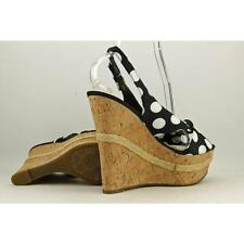 GUESS Wedge Canvas Heels for Women