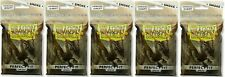 Lot of 5 Dragon Shield Perfect Fit Inner Sleeves Smoke brand new 100 ct packages