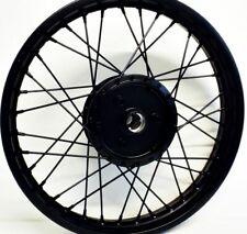 Styling Felge - 1,60 x 16 - Schwarz glänzend Pulverbeschichtet für Simson S51