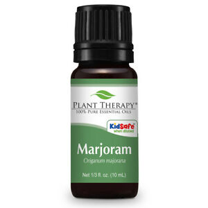 Plant Therapy Sweet Marjoram Essential Oil 10 mL (1/3 oz) 100% Pure, Undiluted