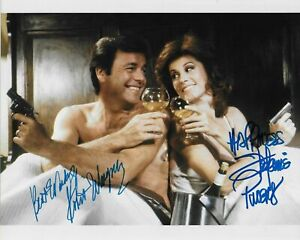 HART TO HART - ROBERT WAGNER & STEPHANIE POWERS AUTOGRAPH SIGNED PP PHOTO POSTER
