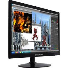 "HD High Resolution HDMI Sceptre 22"" LED Full HD Monitor Screen PC Computer VGA"