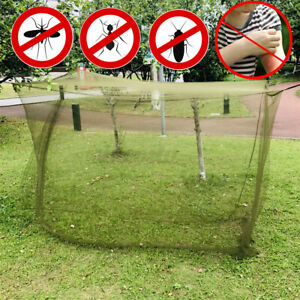 Indoor Outdoor Camping Mosquito Insect Net Cover Canopy Fit Travel Sleep Tent