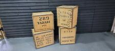 Vintage Tea Chest, Crate, Trunk, Side Table