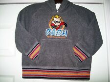 Disney Store Incredibles Dash Gray Fur Lined Hoodie Jacket Toddler Size 2/3