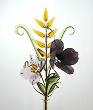 Handmade Glass Dried & Artificial Flowers