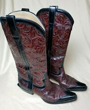 Donald J. Pliner Women's FRISK Western Couture Collection Boots Italy 8 M