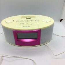 Homedics Ss-6500 Isoundspa Clock Charging iPod Docking Mauve Face