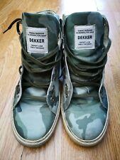 "UK Size 9 ""Made In Italy"" Dekker High Top Men's Shoes"