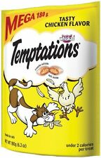 Whiskas Temptations Tartar Control Tasty Chicken Flavour Treats for Cats, 6.3-Ou