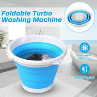 Portable Mini Washing Machine Turbo Spinner Washer Bucket Compact Dorm Travel N