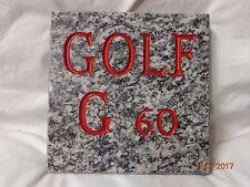VOLKSWAGEN GOLF G 60      GADGET PUBBLICITARIO ORIGINALE ANNI '80