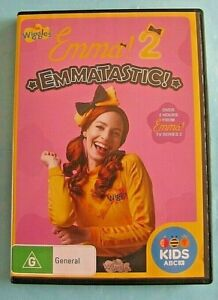 EMMA 2 Emmatastic! DVD (The Wiggles) Region 4 see below