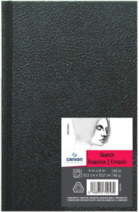 Canson Artist Series Sketch Book Paper Pad, for Pencil and Charcoal, Acid Free,