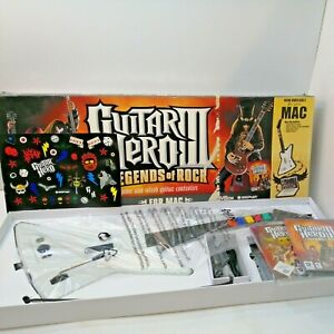Guitar Hero 3 Legends of Rock for MAC  PC gibson explorer NEW UNUSED