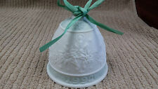 Lladro Christmas Bell Ornament 1992 Great Condition Free Shipping!