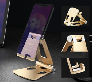 Universal Metal foldable Phone holder Desktop Stand Cell Phone Tablet holders