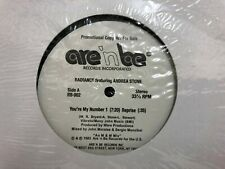 """RADIANCE - YOU'RE MY NUMBER 1 12"""" ARE 'N BE RECORDS RB-002 UNOFFICIAL PROMO"""