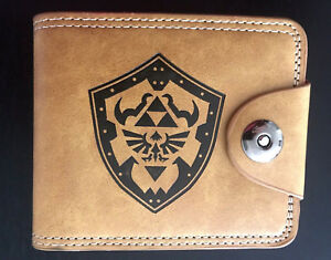 Legend of Zelda Wallet Purse Handbag ID Mens Kids Gaming Hyrule Shield Link AUS