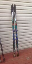 Rossignol STS Slalom SERIES Carbon Skis (187) w/ Bindings Green And Blue NICE!!!