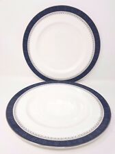 "Royal Doulton Sherbrooke - 2 x Dinner Plate - 10.5"""
