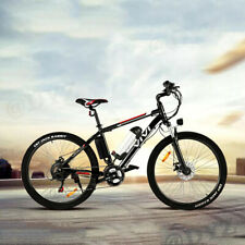 26INCH 350W Electric Bike Mountain Bicycle EBike SHIMANO 21Speed 36V Li-Battery