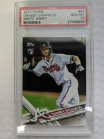 2017 Topps #87 Dansby Swanson ROOKIE PSA 10 Gem Mint RC BRAVES