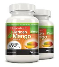 Africas Finest Pure African Mango Pills 18000mg 120 Capsules Evolution Slimming