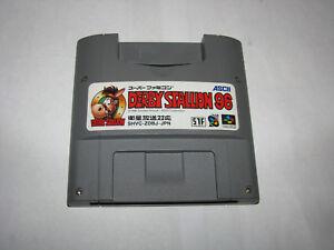 Derby Stallion 96 Super Famicom SFC Japan import US Seller