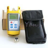 Fiber Optic Test Tool Optical Light Source 1310/1550nm Wavelength SC/FC Adapter