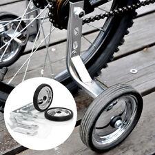 """2x Fahrrad Stützräder 12-20"""" Kinderfahrrad Stützrad mit Drehschutz Zusatzstreben"""