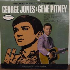 George Jones & Gene Pitney recorded in Nashville TN 33RPM MM2044B   091216LLE