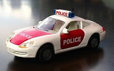 VINTAGE Siku PORSCHE 911 CARRERA POLICE PATROL CAR | Serie 1093 | Diecast
