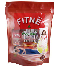 Fitne herbal infusion diet tea original weight Control slimming faster 4x40 Bag.