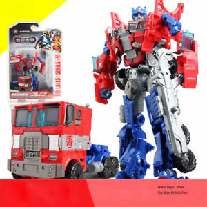 Transformers Optimus Prime Action Figure Toy Robot Truck Action Figure Kids Toy
