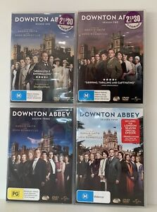Downton Abbey - Seasons 1 - 4 - Region 4 - VGC - DVD TV Series Show