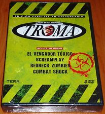 EL VENGADOR TOXICO / REDNECK ZOMBIES / COMBAT SHOCK / SCREAMPLAY - Precintada