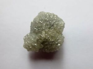 7.31 Carats WHITE/SILVER Natural Uncut Raw ROUGH DIAMONDS