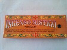 incenso giapponese TRANQUILLITA' mistico profumo magia aromaterapia essenza