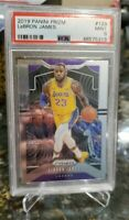 2019-20 Panini PRIZM LeBron James *PSA 9* LA Lakers #129 MVP! FINALS! CHAMPION